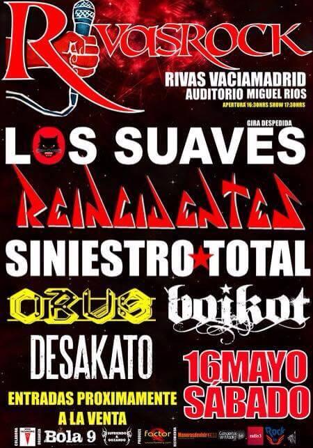 Festival Rivas Rock - Madrid @ Rivas Rock   Rivas   Comunidad de Madrid   España