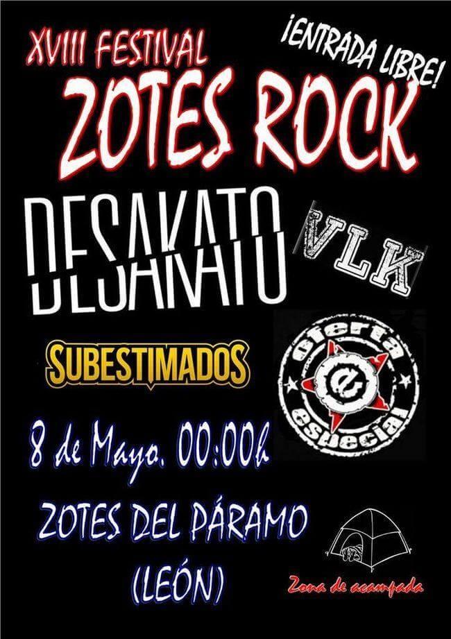 Zotes Rock - Zotes del Páramo (León) @ Zotes Rock   Zotes del Páramo   Castilla y León   España